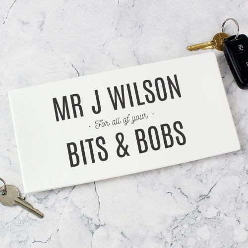 Personalised Bits & Bobs Ceramic Tray
